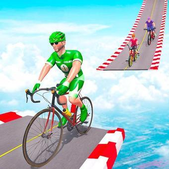 循環特技游戲:巨型坡道自行車