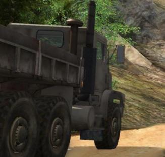越野貨運卡車司機