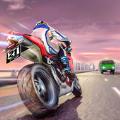極端高速公路摩托車賽跑